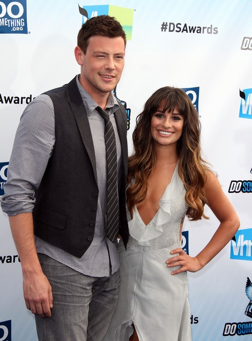 Lea Michele and Cory Monteith's Fake Relationship Exposed as Glee Ratings Ploy Showmance - Nasty Accusations By UnNamed Sources