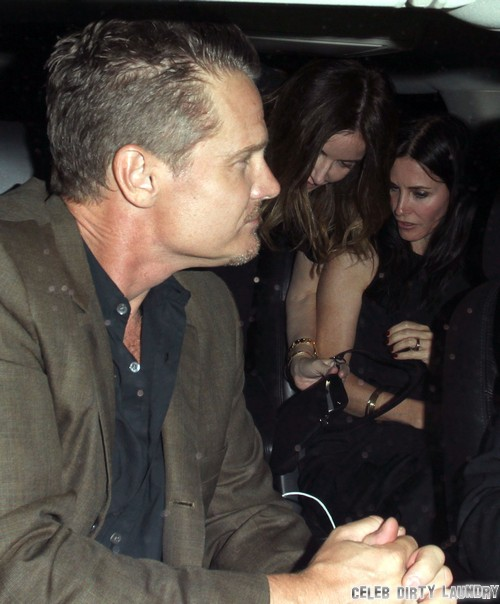 Courteney Cox And Brian Van Holt Engaged And Ready To Marry - Wearing Engagement Ring