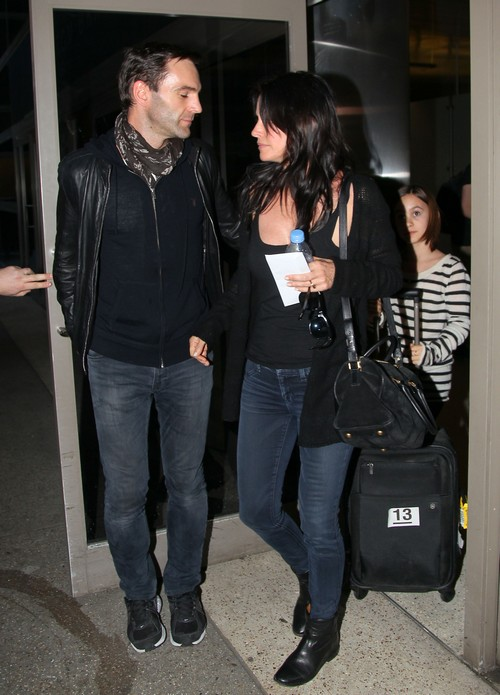 Courteney Cox Pregnant By New Live-In Boyfriend Johnny McDaid?