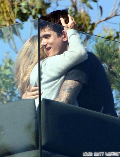 Courteney Cox Snubs John Mayer At Soho House, Still Has Jennifer Aniston's Back