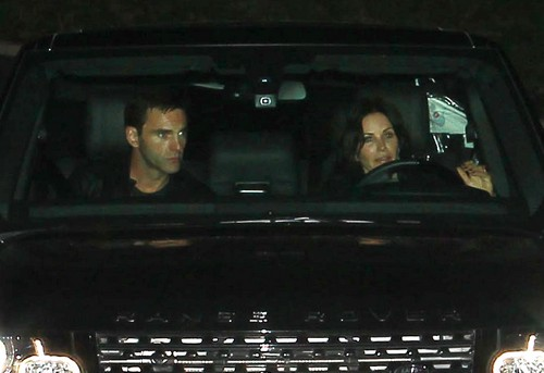 Celebrities Attend A Christma Party At Jennifer Aniston's House