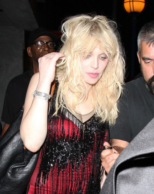 Aaron Sorkin and Courtney Love Secretly Dating - Is He Too Ashamed to Go Public?