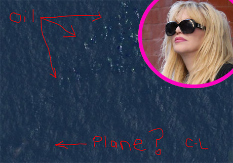 Courtney Love Might Have Found the Missing Malaysia Airlines Flight 370!