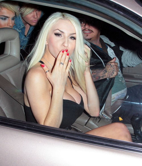 Courtney Stodden To Become The Next Lady Gaga - Backed By Rob Fusari?
