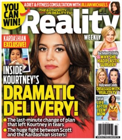 Details On Kourtney Kardashian's Last-Minute Dramatic Delivery 0621
