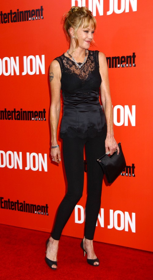 Dakota Johnson Fears Getting Fired - Bans Melanie Griffith From Fifty Shades of Grey Movie Set