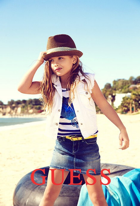 Anna Nicole Smith's Daughter, Dannielynn Birkhead Modeling Debut For GUESS Kids (Photos)
