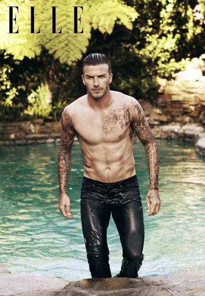 Cover Boy David Beckham On Dressing Up Like His Wife, Victoria Beckham 0529