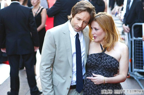 gillian anderson on her relationship with david duchovny
