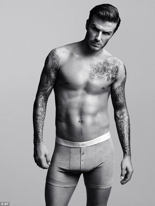 David Beckham's Crotch Stuffed To Ehance His Bulge During H&M Super Bowl Underwear Ads (VIDEO)