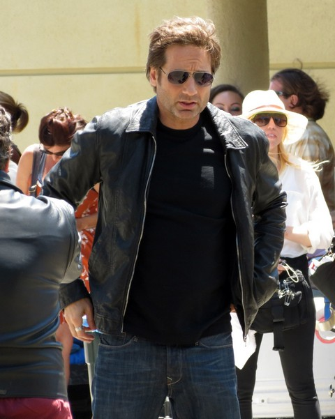 David Duchovny: Sex Addict Caught At Oriental Massage Parlor - Gillian Anderson Furious!