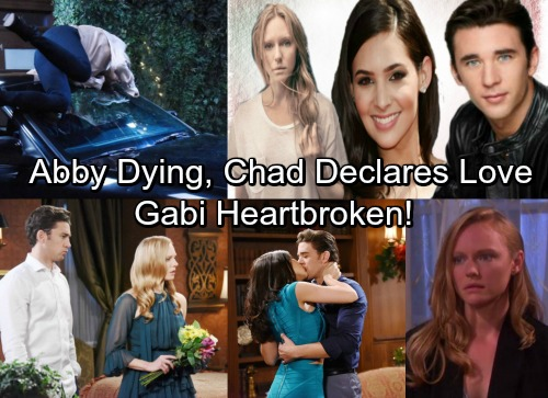 Days of Our Lives Spoilers: Abigail Needs Life-Saving Surgery, Chad Declares Love – Gabi's Heart Breaks After Eavesdropping