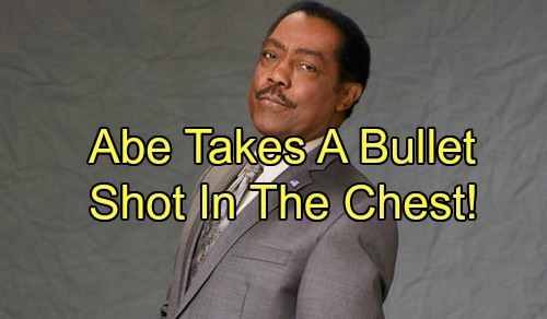 'Days of Our Lives' Spoilers: Abe Takes a Bullet in Shocking Shootout – Theo Fears for Dad's Life, Leans on Ciara for Support