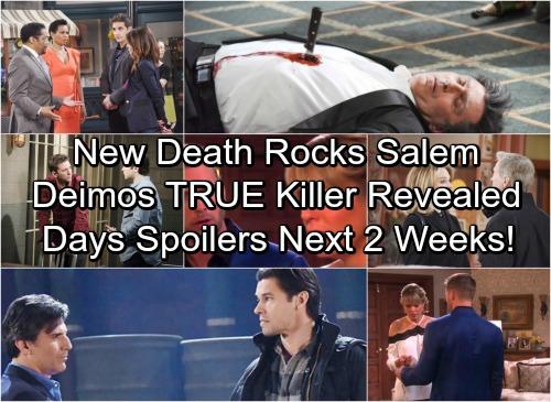 Days of Our Lives Spoilers for Next 2 Weeks: Death Rocks Salem – Deimos' True Killer Revealed – Bonnie Wants Lucas