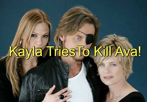 Days of Our Lives (DOOL) Spoilers: Ava Gloats About Steve Sex, Fight Ensues - Accuses Kayla of Attempted Murder