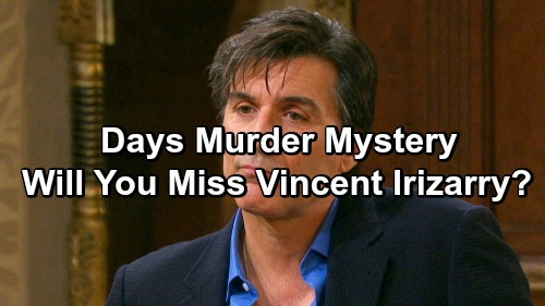 Days of Our Lives Spoilers: Grim Fate Awaits Deimos in Murder Mystery – Will You Miss Vincent Irizarry?