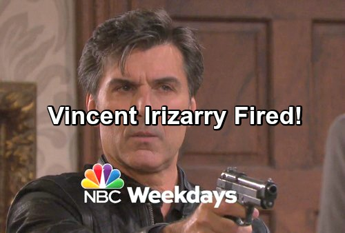 Days of Our Lives Spoilers: Vincent Irizarry Fired From DOOL - Deimos Done On Days