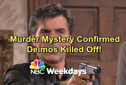 Days of Our Lives Spoilers: Shocking Murder Hits Salem – Deimos Killed Off in Exciting Whodunit Storyline