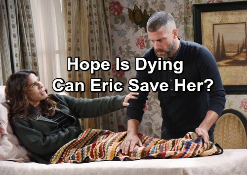 Days of Our Lives Spoilers: Eric Struggles to Keep Hope Alive - Steve Gets a Shock, Nearly Shoots Kayla