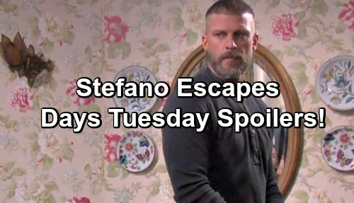 Days of Our Lives Spoilers: Anna Shoots Steve – Gabrielle Haugh Takes Over as Jade – Eric Cares for Ailing Hope