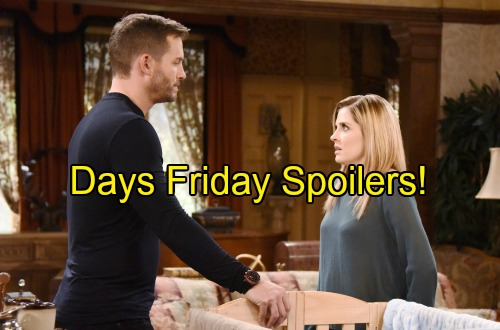 'Days of Our Lives' Spoilers: Devastation for Brady and Theresa – Eve Heads Home, Returns Soon – Philip Takes Drastic Action