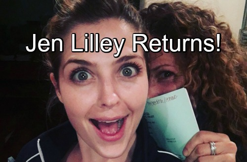 'Days of Our Lives' Spoilers: Jen Lilley Hints at DOOL Return – Theresa Coming Back to Salem?