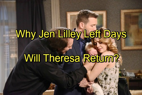 'Days of Our Lives' Spoilers: Jen Lilley Open to DOOL Return, Will NBC Soap Bring Theresa Back After Contract Trouble?