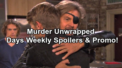 Days of Our Lives Spoilers: Week of March 27 – Fierce Faceoffs, Complicated Love and a Shocking Emergency