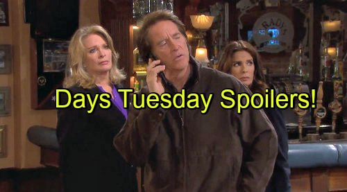 'Days of Our Lives' Spoilers: John's Deal with Orpheus Backfires – JJ Gets Shot – Rafe and Eduardo Help Hope Disarm Bomb