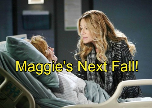 'Days of Our Lives' Spoilers: Another Terrible Fall For Maggie – Brady Delivers Bad News, Summer's Deception Shocks Mother