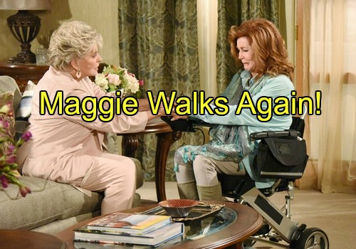 'Days of Our Lives' Spoilers: Deimos Reconciles With Victor, Cures Maggie's Paralysis Plus More