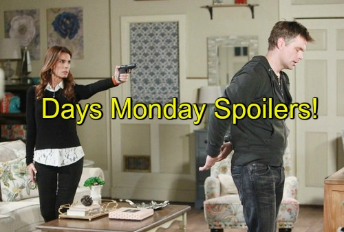 Days of our lives dool spoilers for next week s episode on monday may