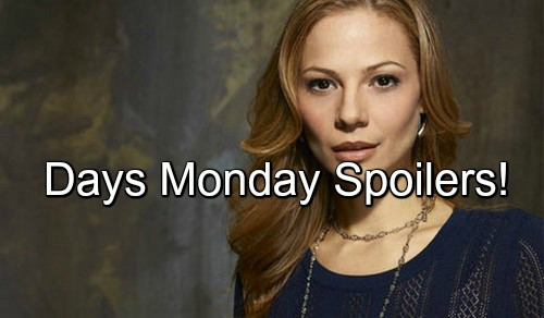 Days of Our Lives (DOOL) Spoilers: Steve and Ava Get Terrible News, Alleged Child Dead – Abigail Grills Chad About Eloping