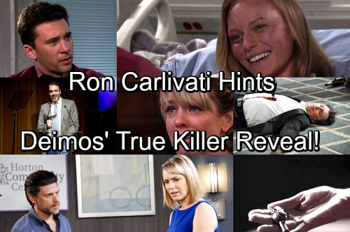 Days of Our Lives Spoilers: Ron Carlivati Drops Hints About Deimos' True Killer – Murder Shocker Affects Hot Love Story