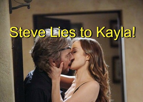 Days of Our Lives (DOOL) Spoilers: Steve Lies to Kayla About Ava's Demands – Ava Hatches New Evil Plot