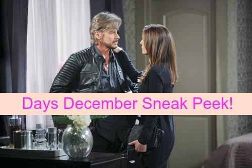 Days of Our Lives Spoilers: Sneak Peek at December DOOL Drama – Revenge, Returns and More!