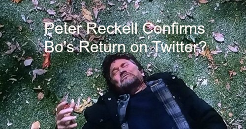 Days of Our Lives Spoilers: Peter Reckell Hints Bo Return on Twitter - Coming Back or Not Dead?