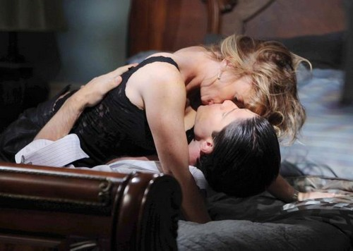 Days Of Our Lives Spoilers: Chad Pulls a Gun On EJ - Kate's Surprise Partner - Sami and EJ Smooching - Hope Divorces Bo, Loves Aiden
