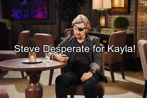'Days of Our Lives' Spoilers: Steve Spots Fynn Kissing Kayla, Changes Career to Win Ex Over – Eduardo and Steve Talk Love