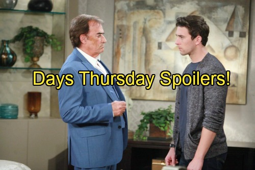 'Days of Our Lives' Spoilers: Steve and Kayla Get Bad News – Kate Considers Eduardo's Offer - Andre and Chad Bond