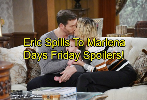 Days of Our Lives Spoilers: Nicole and Brady Face Legal Drama – Deimos Carries Out Twisted Scheme – Eric Opens Up to Marlena