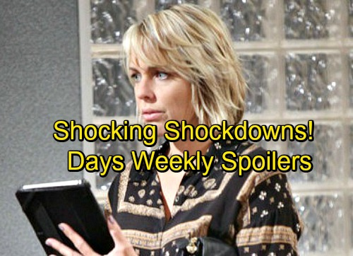 Days of Our Lives Spoilers: Week of September 18 – Growing Doubts, Huge Mistakes and Shocking Showdowns