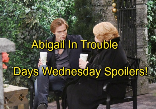 Days of Our Lives Spoilers: Dario Finds Out Abigail Is Alive – Philip Opens Up to Nancy – Sonny and Justin Fear for Adrienne