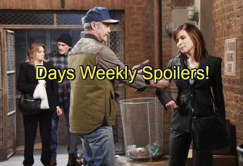 Days of Our Lives Spoilers: Week of September 26-30 – Villainous Bombshells, Stunning Rescues and a Baby Daddy Dilemma