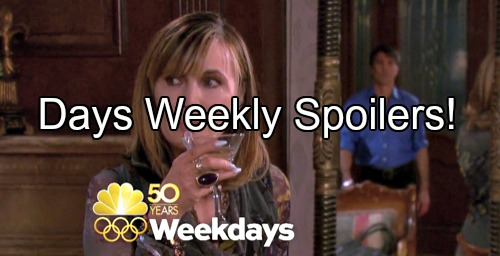 'Days of Our Lives' Spoilers: Week of June 27 – Theresa's Baby Stolen - Devious Plans and Explosive Encounters