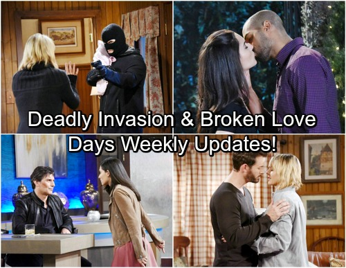 Days of Our Lives Spoilers: Week of April 24 – Stunning Emergencies, Complicated Love and a Dangerous Invasion