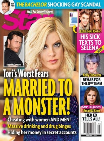 Dean McDermott Gay or Bisexual? Tori Spelling Busts Husband Cheating With Men - Report (PHOTO)