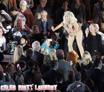 Lady Gaga Drops The F Bomb As She Sings To Bill Clinton (Photo)