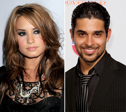 Demi Lovato and Wilmer Valderrama SPLIT