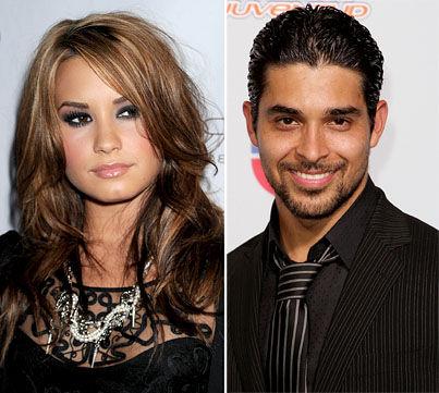 Demi Lovato and Wilmer Valderrama SPLIT